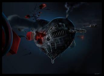Metal Heart by microbot23