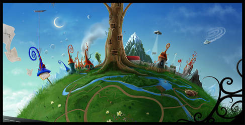 Big Tree by microbot23