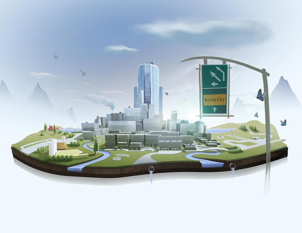 IBM Natro City by microbot23