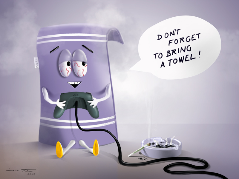 Towelie by microbot23 ...