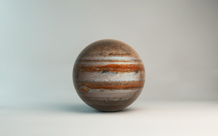Planet  jupiter by microbot23