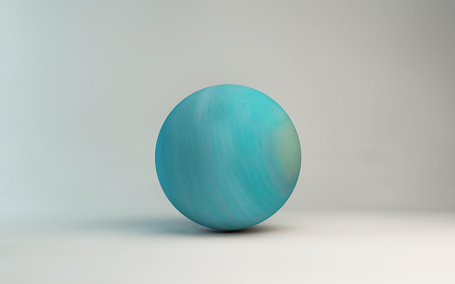 Planet Uranus by microbot23