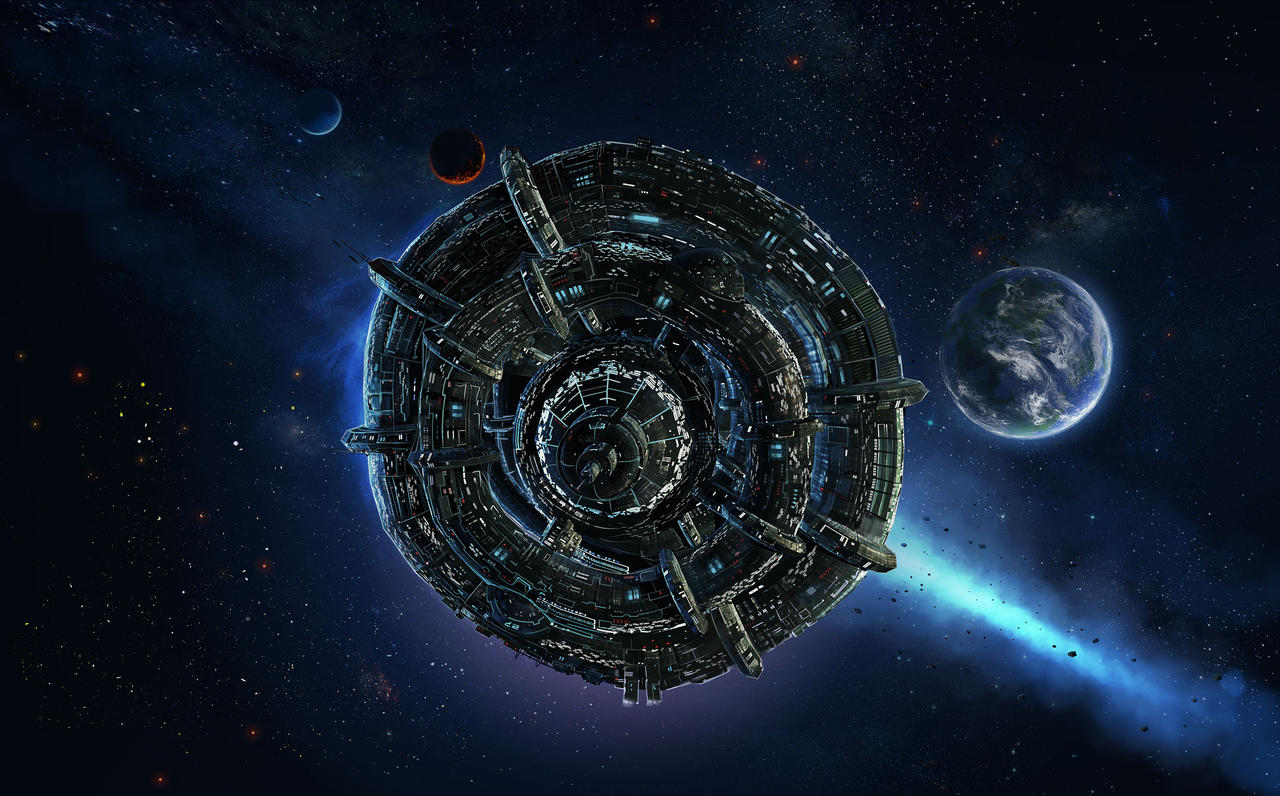 Kushan Spacestation by microbot23 on DeviantArt