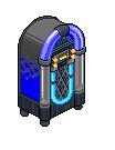 Jukebox Idol Negro Y Azul by correo1231