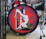 Rachel Starr Kick Resonant Drum Head