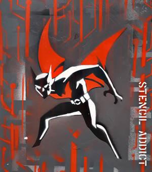Batman Beyond Stencil