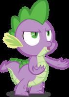Spike Y U NO? by Mowza2k2