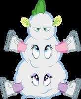 Best Snowman In Equestria by Mowza2k2