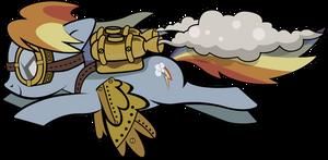 Steampunk Rainbow Dash
