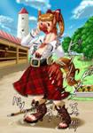 Girl transformation horse pg.2