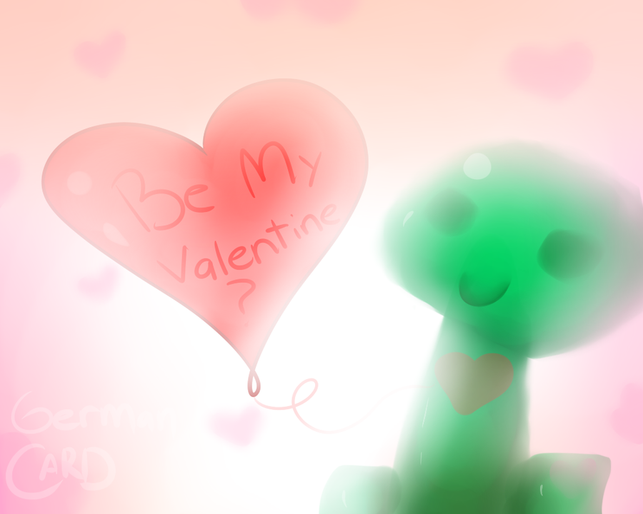 Be my valentine? by GermanCard