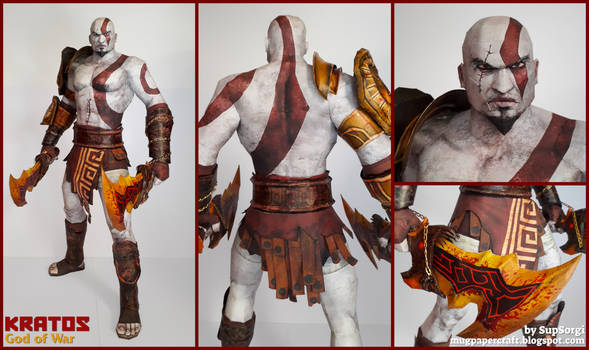 God of War - Kratos Papercraft
