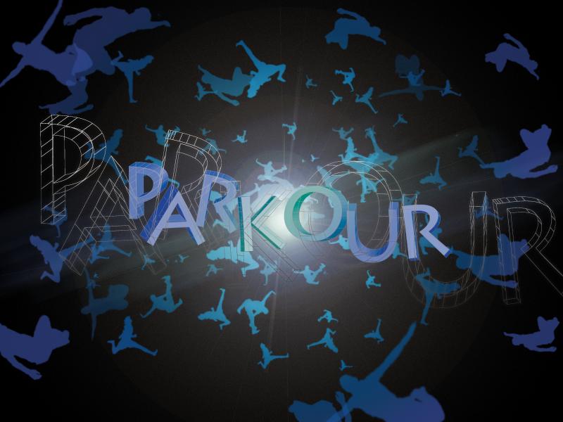 Sunday wallpaper 1: Parkour 3D explosive by ninjaSpence