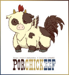 Puto the Porchickeef by renKa002