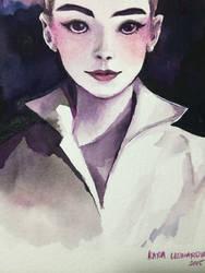 Ms. Hepburn by renKa002