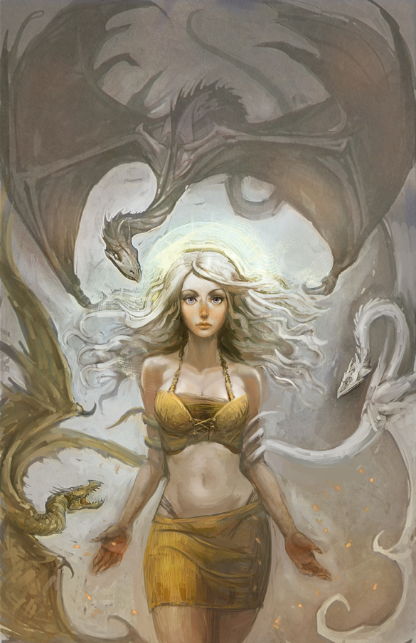 Mother Of Dragons by hungerartist