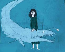 Deep Sea Girl by hungerartist