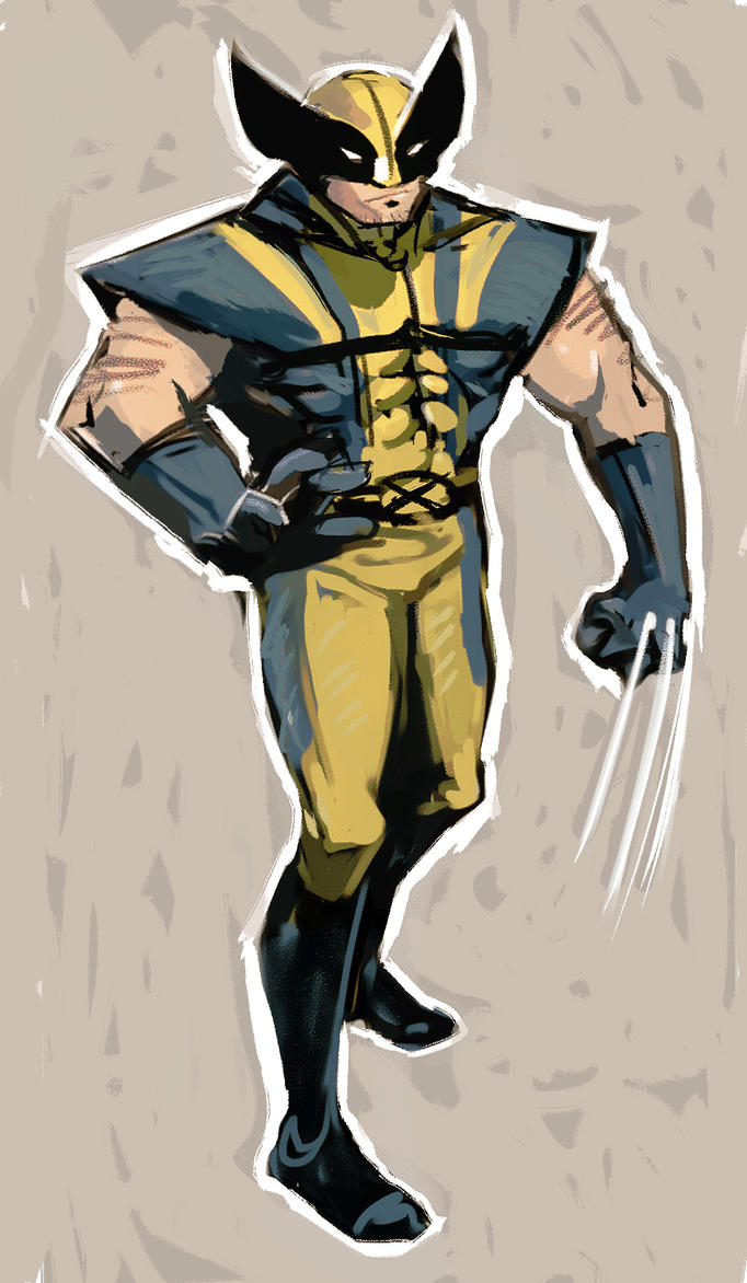 Just a Wolverine by hungerartist