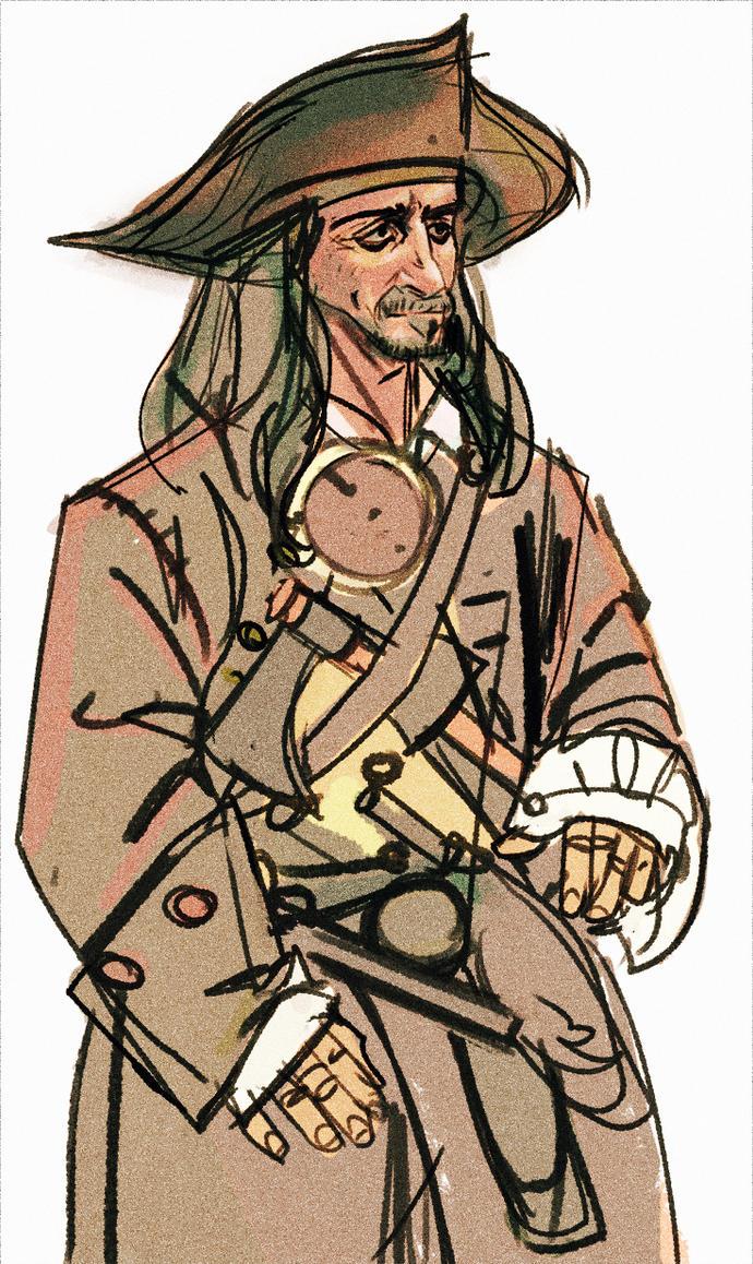 Pirate study by hungerartist