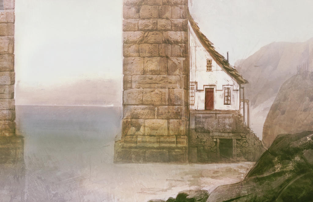 Small house under the bridge by hungerartist