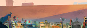 Starlight City by hungerartist