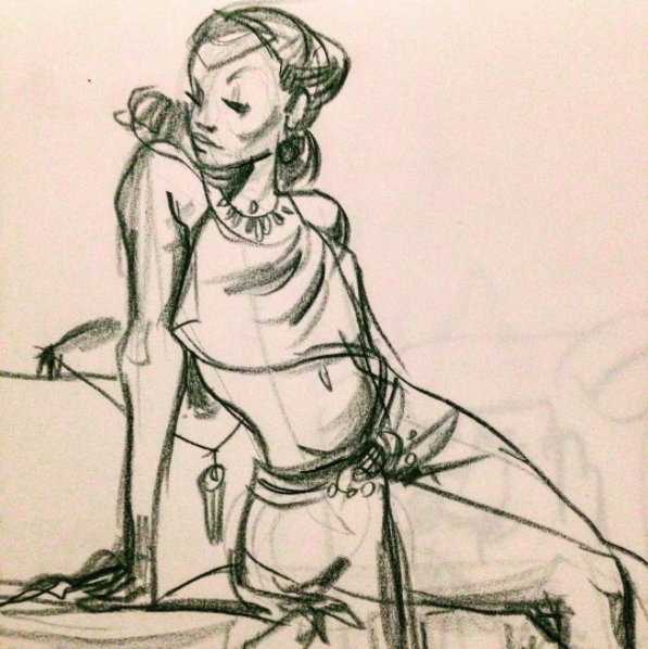 Figure drawing by hungerartist