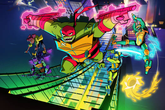 Rise Of The TMNT