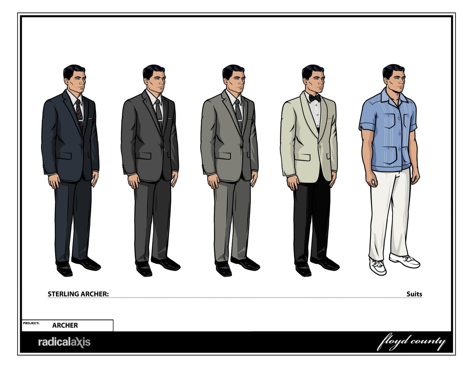 Archer Suit Choices Season Missleman  Software   Picture Archerfx