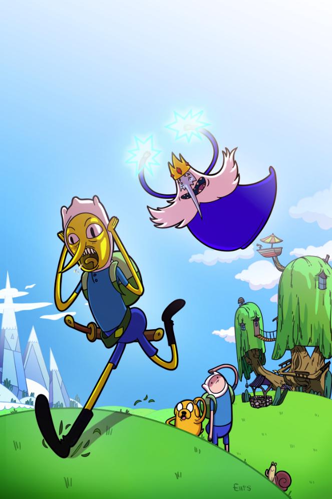 Adventure Time #31 Sam Ellis incentive cover by MissleMan