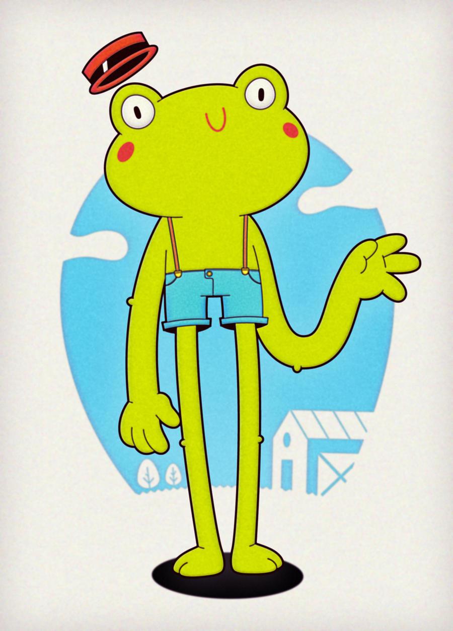 la rana te saluda y la gente la saluda by WarholFan