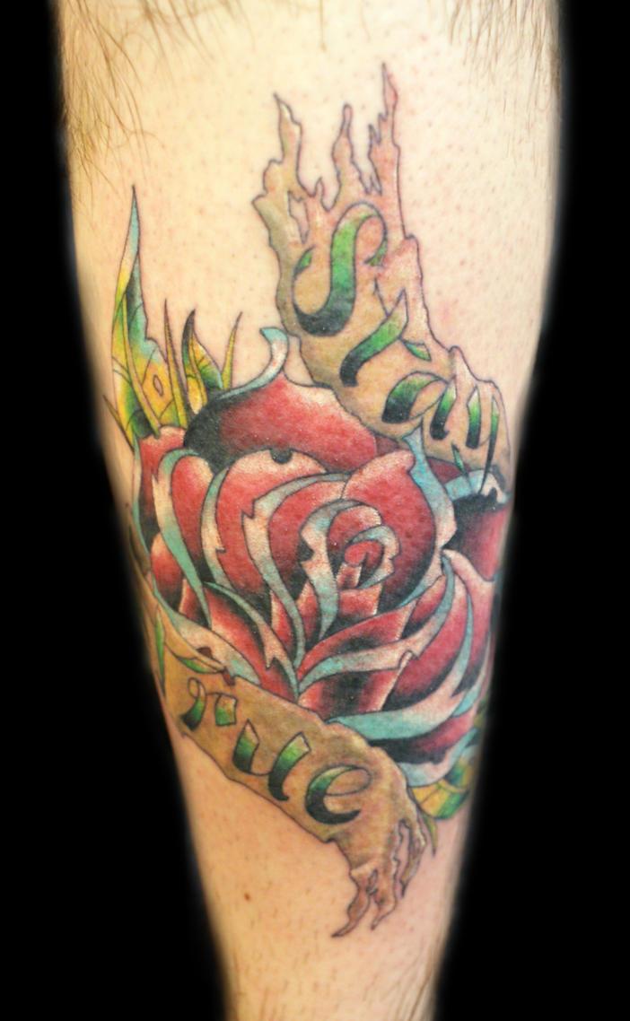stay true tattoo by uken on deviantart