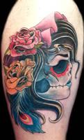 Gypsy Skull Cover up
