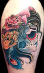 Gypsy Skull Cover up