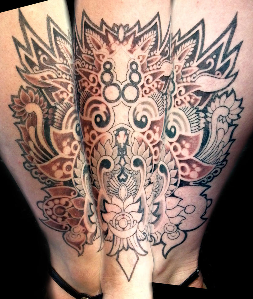 Ornate Owl .work in progress. by Uken
