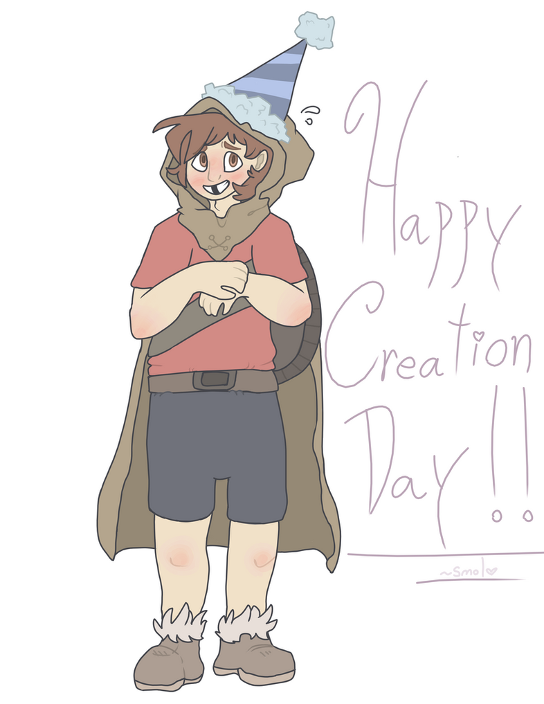 Happy Creation Day, Benny!! by LovelyDovie