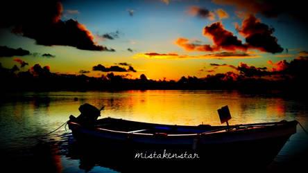 Boat by mistakenstar