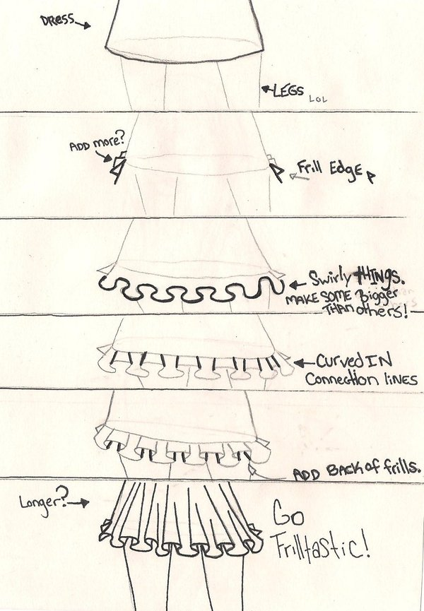 How to draw frills by zuzucovert on deviantart