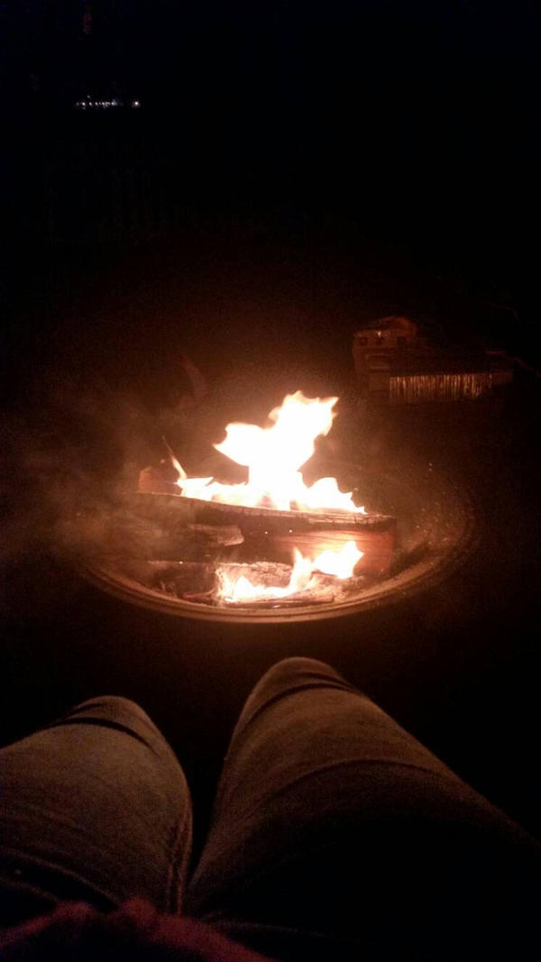Bonfire with Friends by Pyromania219