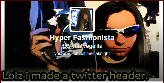 Lolz i made a twitter header and screenshot it.... by Ichnieveris