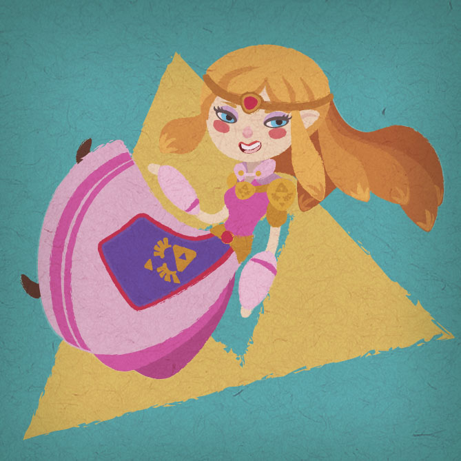 Zelda by lesliesketch