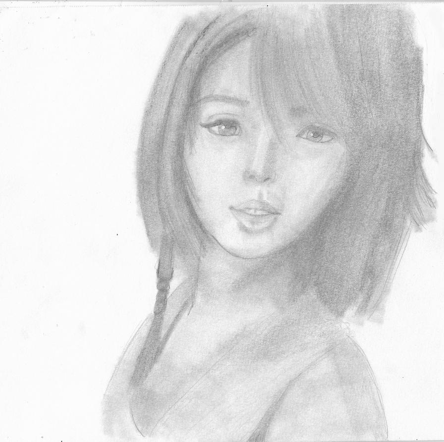 Yuna (Final Fantasy) by 00ShadowGirl00