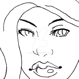First Digital Drawing (Critique needed) by 00ShadowGirl00