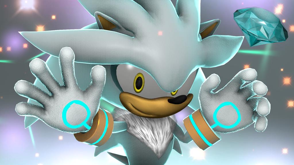 SFM Silver The Hedgehog