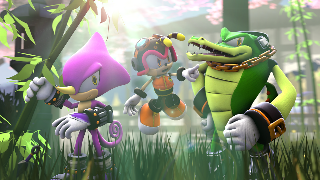 [SFM] Team Chaotix - Wallpaper by AgimonAida on DeviantArt
