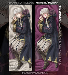 Dakimakura: Male Robin / Grima - Fire Emblem by MonochromeAgent