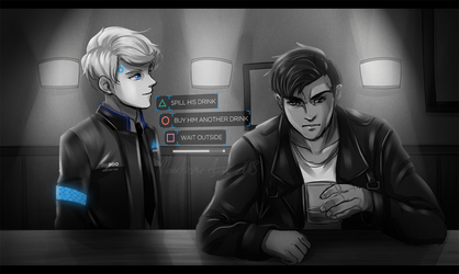 Mono, the Android sent by CyberLife by MonochromeAgent