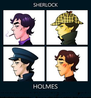 Sherlock - Gorillaz Style