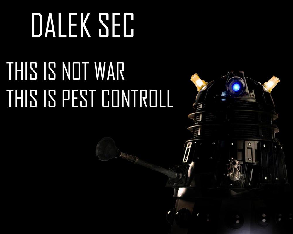 Doctor Who Wallpaper Dalek Exterminate Dalek Sec Wallpaper by