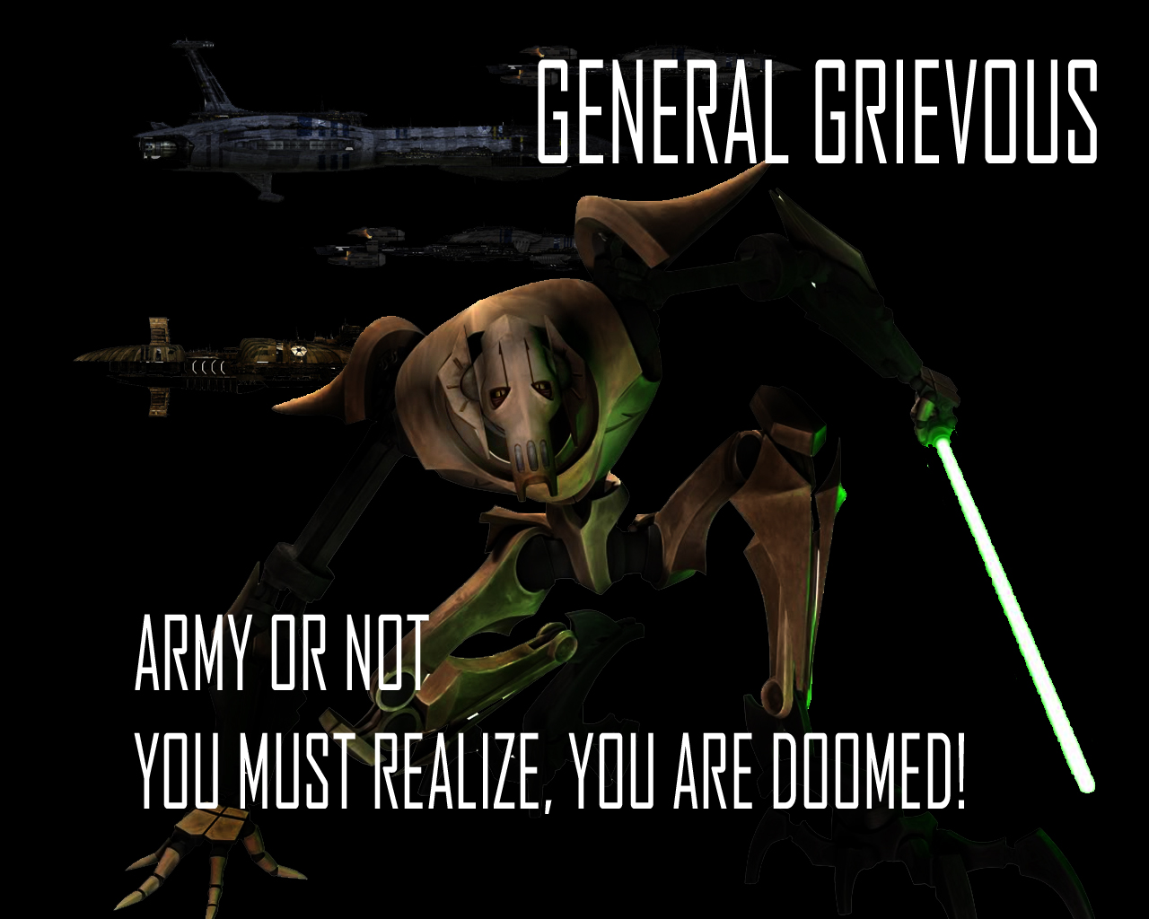General Grievous Wallpaper 3 By Lordstrscream94 On Deviantart