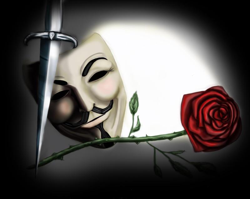 V for Vendetta by disposableheroine